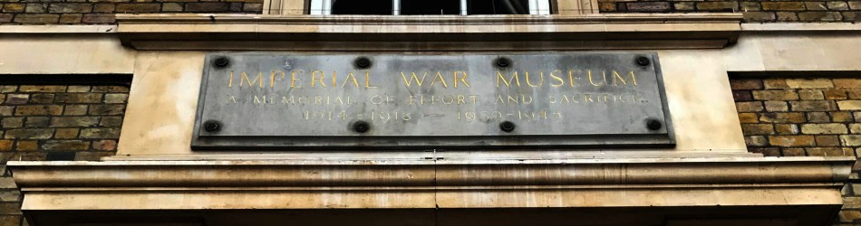 imperial war museum plaque cu