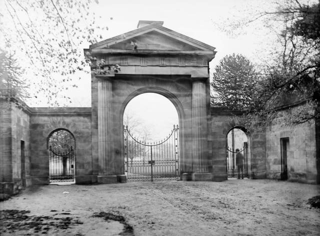 Tatton Park Knutsford Gate Lodge, Cheshire c Historic England
