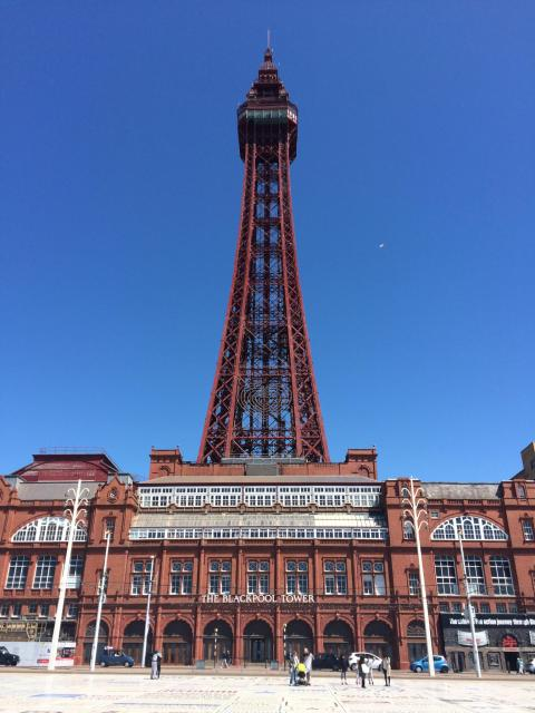 Blackpool Tower. Image courtesy of Blackpool Council Historic Collections