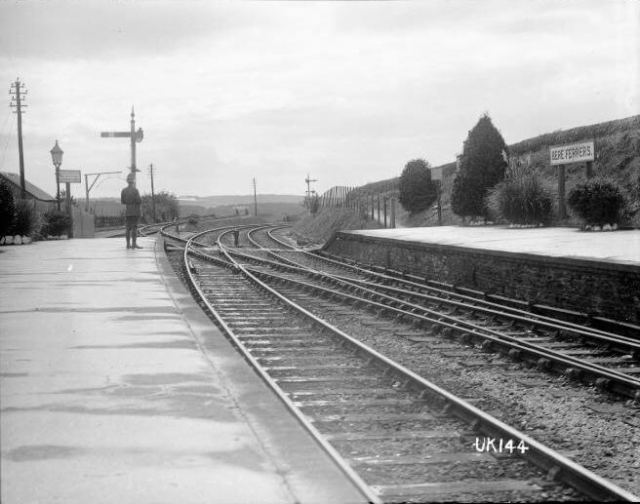 Bere Ferrers station 1918