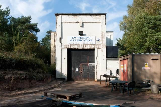 Gorse Industrial Estate, Barnham. c Historic England DP146556