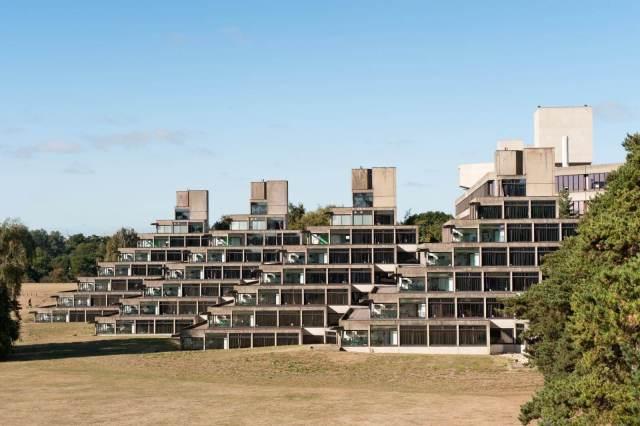 A row of terraced buildings