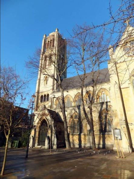 All Saints Church in Notting Hill