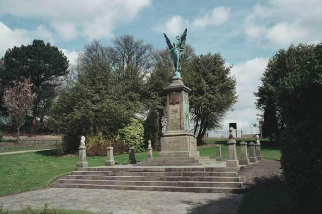 Darwen War Memorial today