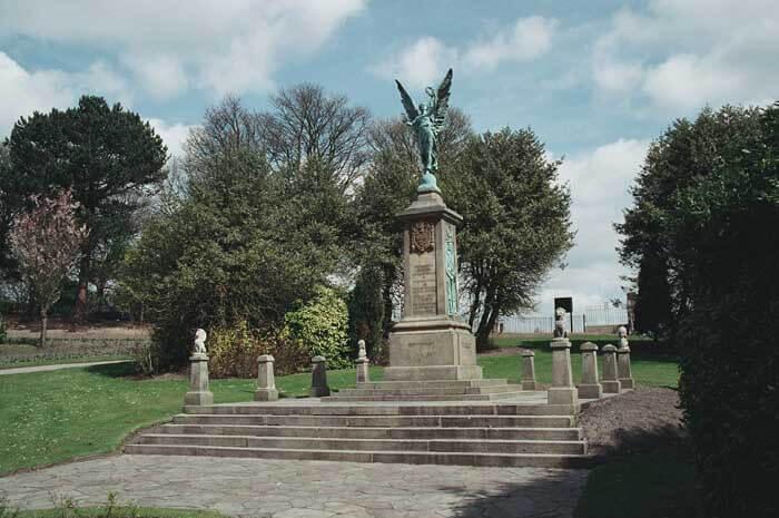 Darwen War Memorial today