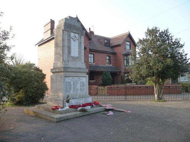 Rawcliffe War Memorial today.