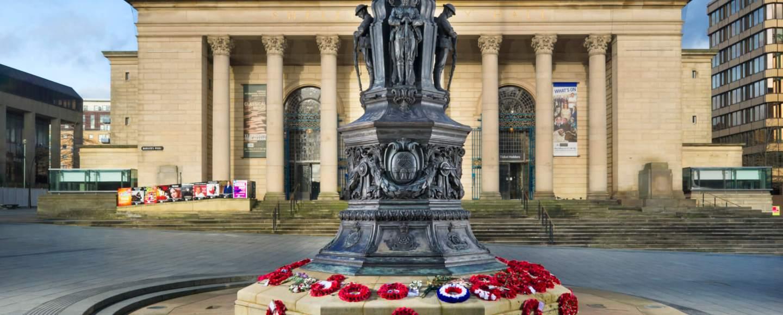 Sheffield War Memorial today
