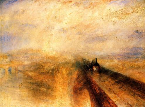 turner painting of the Maidenhead bridge via Creative Commons