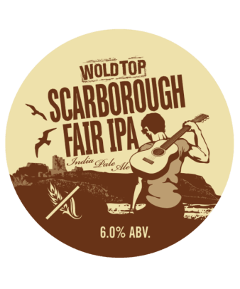 Scarborough Fair IPA label