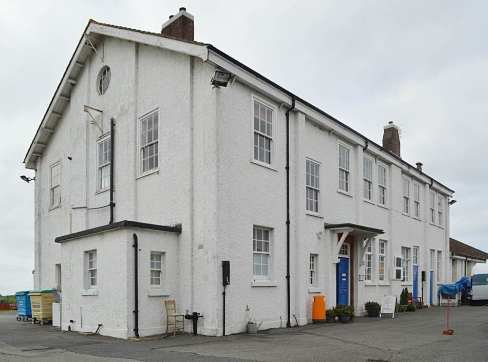 Exterior of the G1 bulding in Farnborough