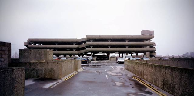 The Tricorn Centre in Portsmouth - an imposing grey car park