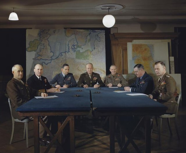 MEETING OF THE SUPREME COMMAND, ALLIED EXPEDITIONARY FORCE, LOND