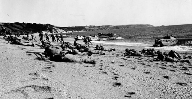 BLOG us troops slapton sands public domain