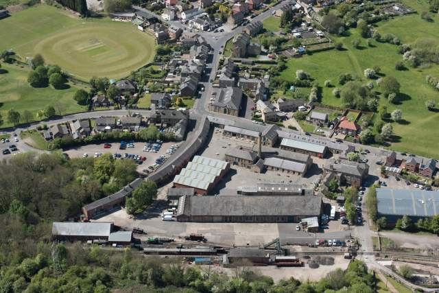 Elsecar Heritage Centre from above