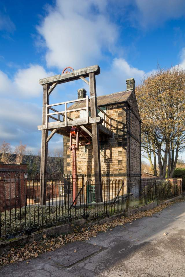 The Newcomen Engine of Elsecar 'New' Colliery in its original engine house of 1795