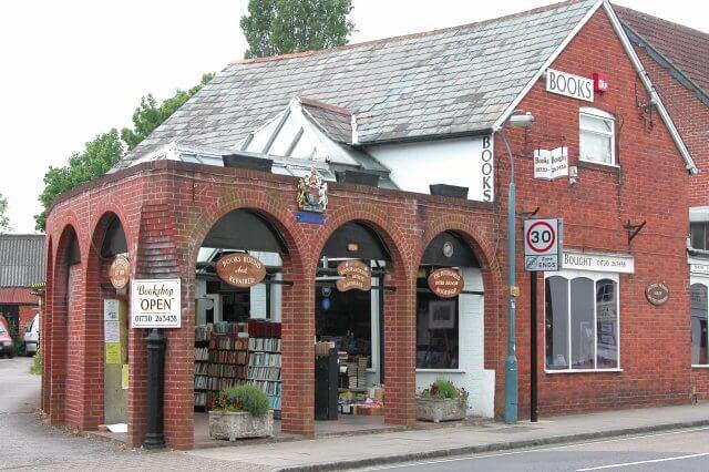 Exterior of Petersfield bookshop