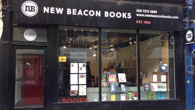 Exterior of New Beacon Books