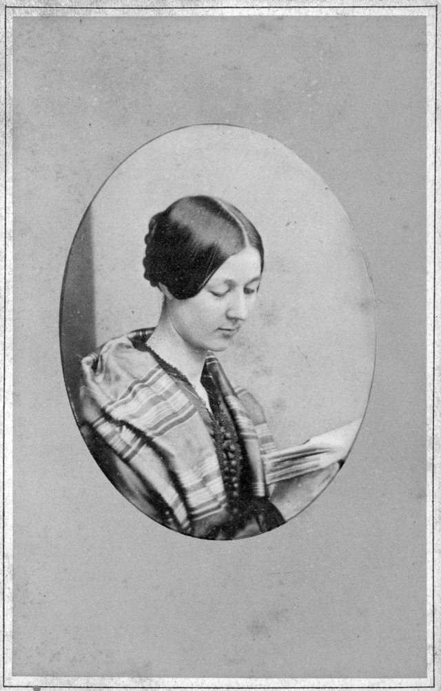 Portrait of Florence in her youth
