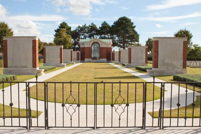 The Commonwealth War Graves Commission Dunkirk Memorial, Dunkerque Town Cemetery