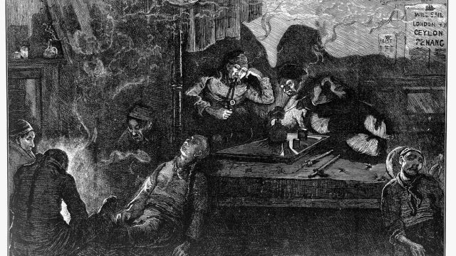 East End opium den