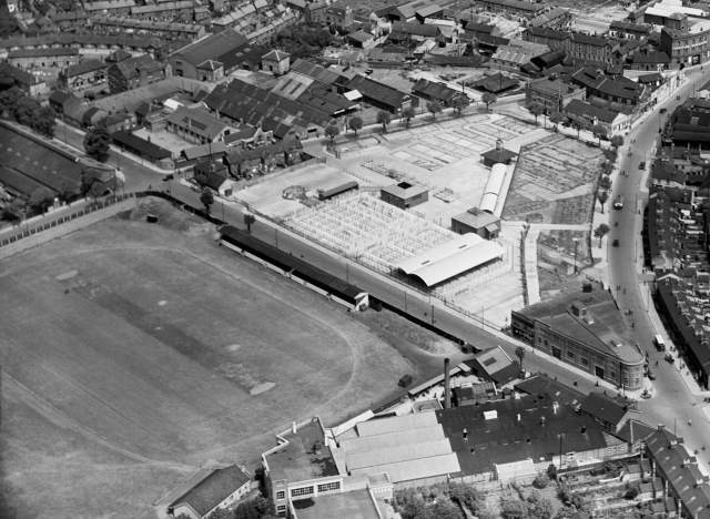 Portman road in 1933