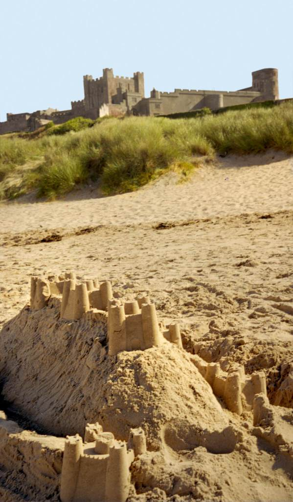 Bamburgh Castle © Historic England Archive