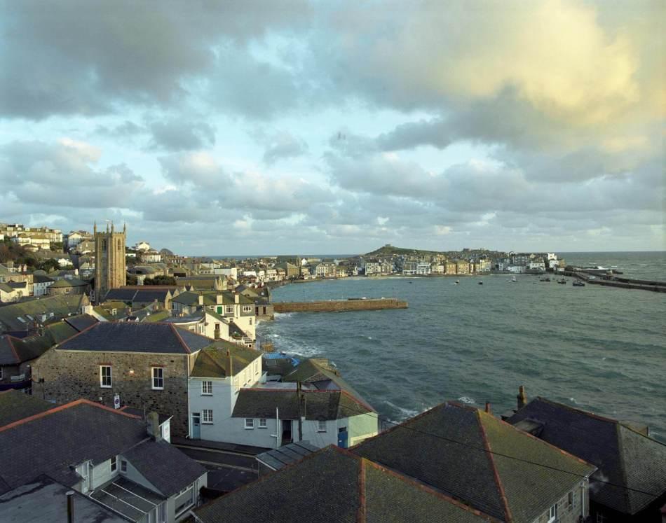 St Ives, Cornwall, February 2004