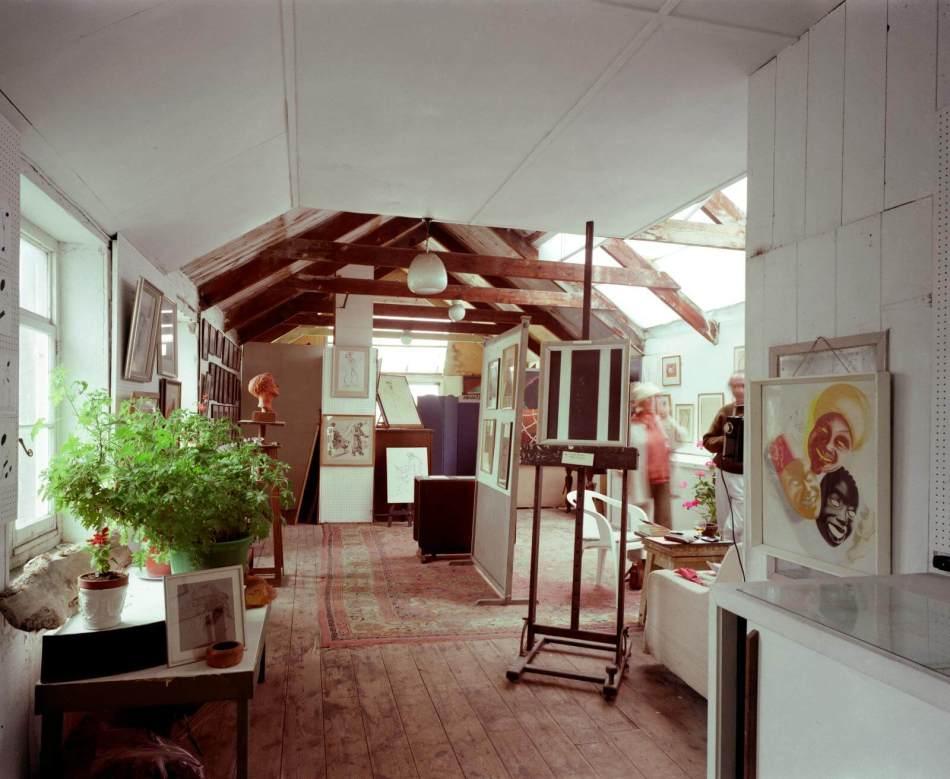 Porthmeor Studios, 10 St. Ives, Cornwall