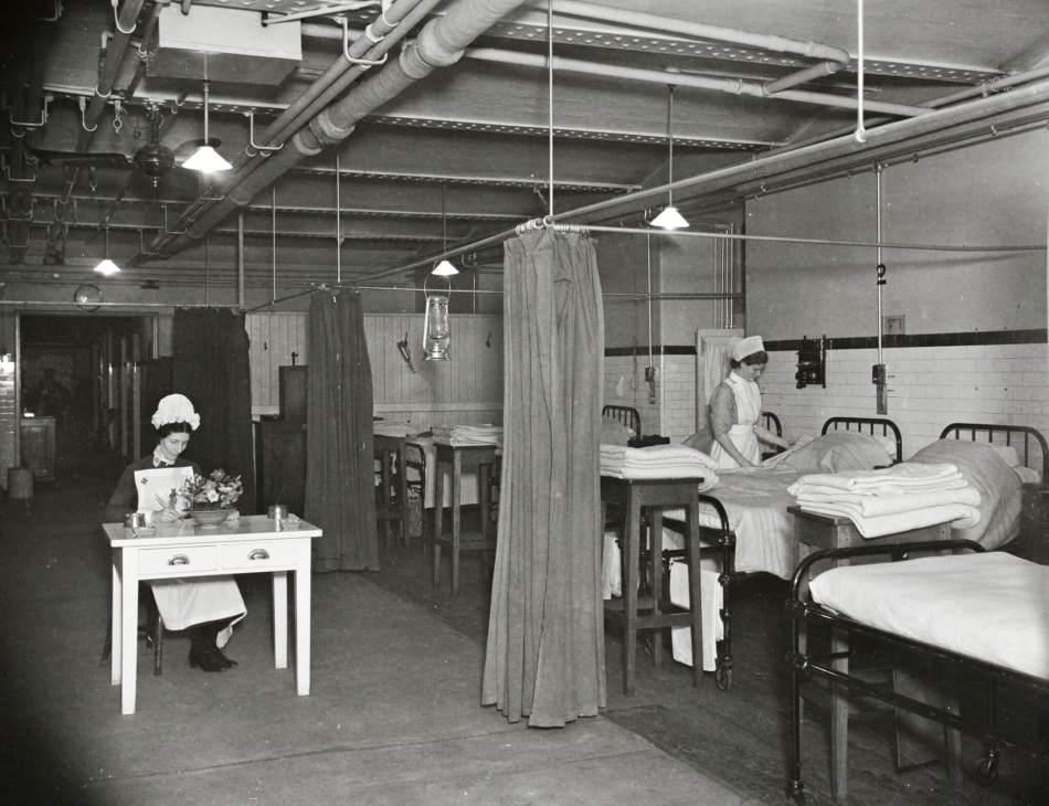 St Thomas's Hospital, London, 24 September 1940