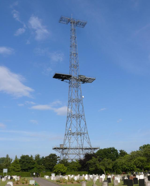 Great Baddow, Essex, Chain Home radar transmitter tower
