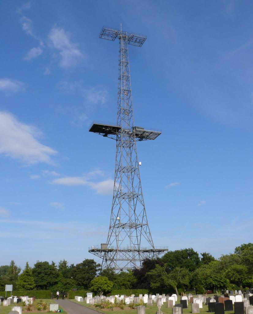 Great Baddow, Essex, Chain Home radar transmitter tower