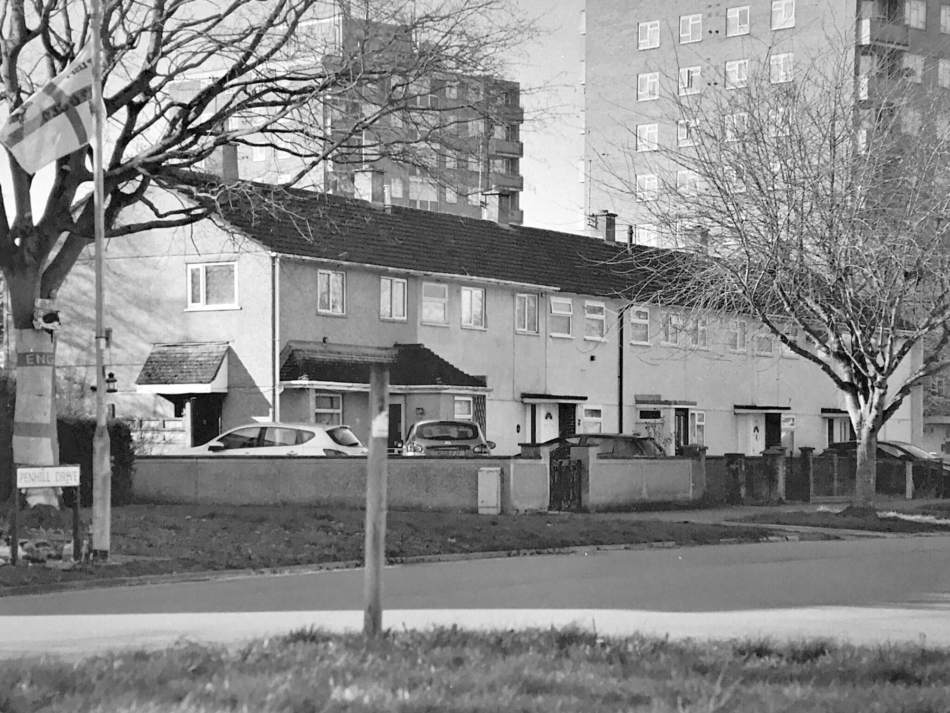 Penhill drive, Swindon, 2020