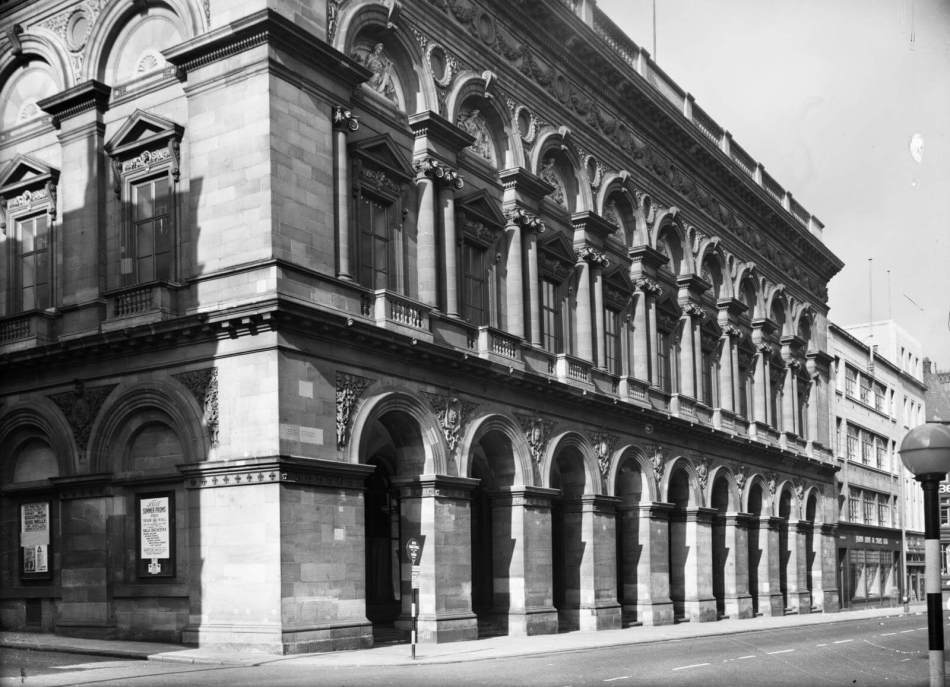 Free Trade Hall, Peter Street, Manchester, 1957 © Historic England Archive BB98/11007