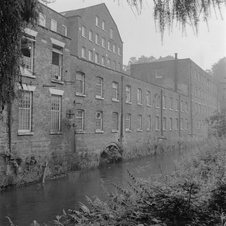 Exterior view of Quarry Bank Mill