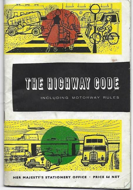 Vintage copy of the 1961 Highway Code