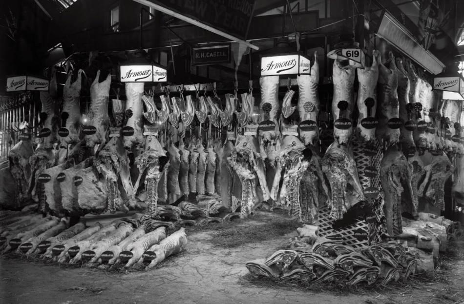 Smithfield Meat Market in 1918