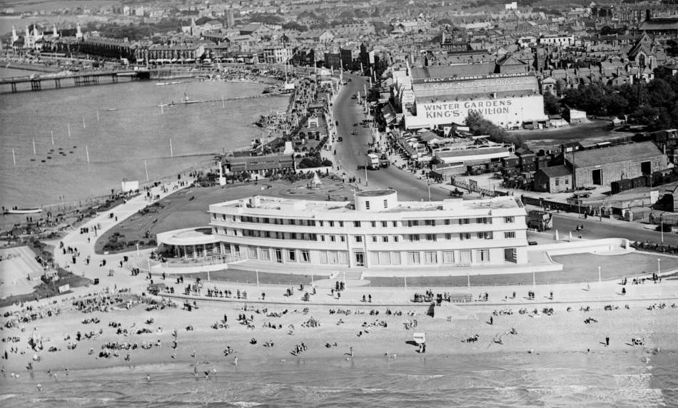 The Midland Hotel and the Seafront, Morecambe