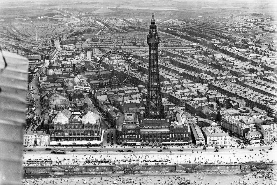 Blackpool Tower and the Winter Gardens