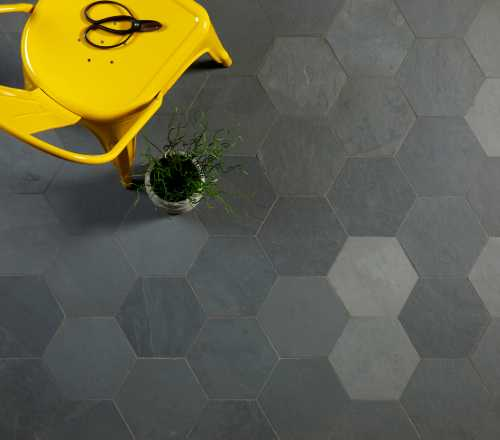 grey slate riven tiles
