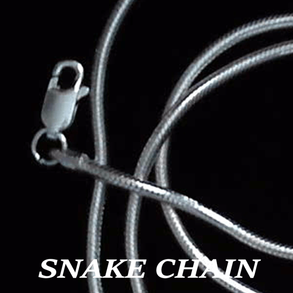 NeckSnakeChain.16,18,20,22,24in, 1.5mm,2.0mm,2.5mm, 3.0mm SterlingSilver Labeled