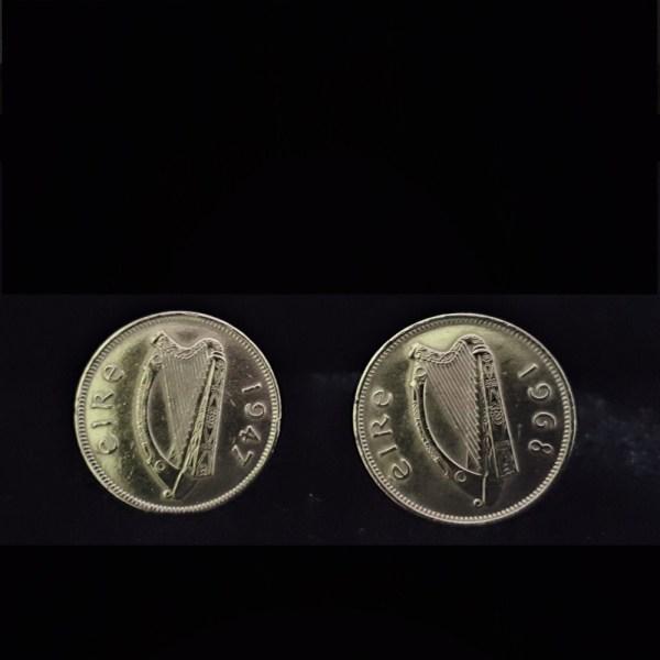 Ireland .825in 21.00mm 1947.1968 6 Reul vv