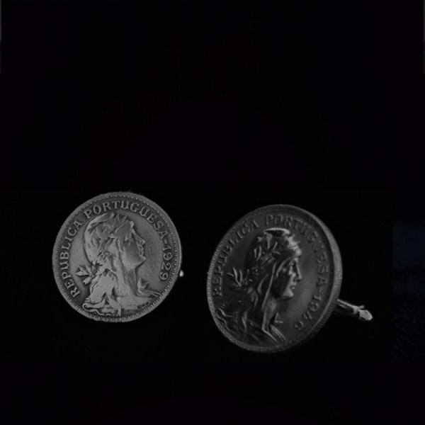 Portugal One centavos centavos 1946.1929. .90 in 22.70mm v2