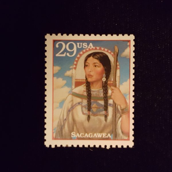 SACAGAWEA c29 1994 Legends of The West NH Mint #2869 $.50