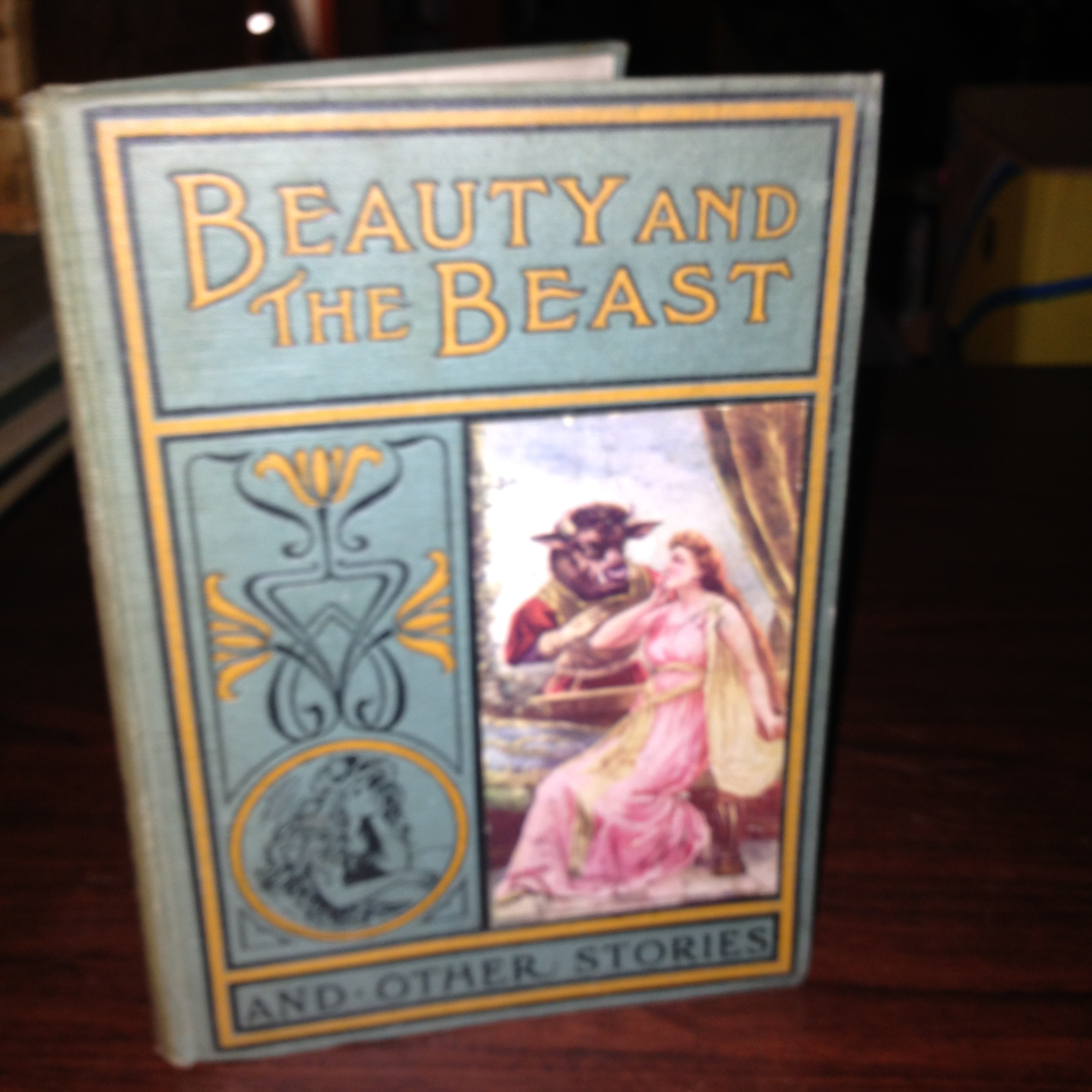 Sold Vintage Book Beauty And The Beast