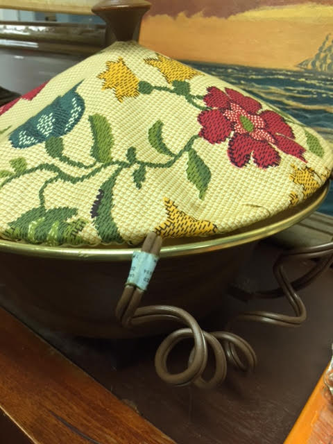 Vintage Electric Bread Warming Basket