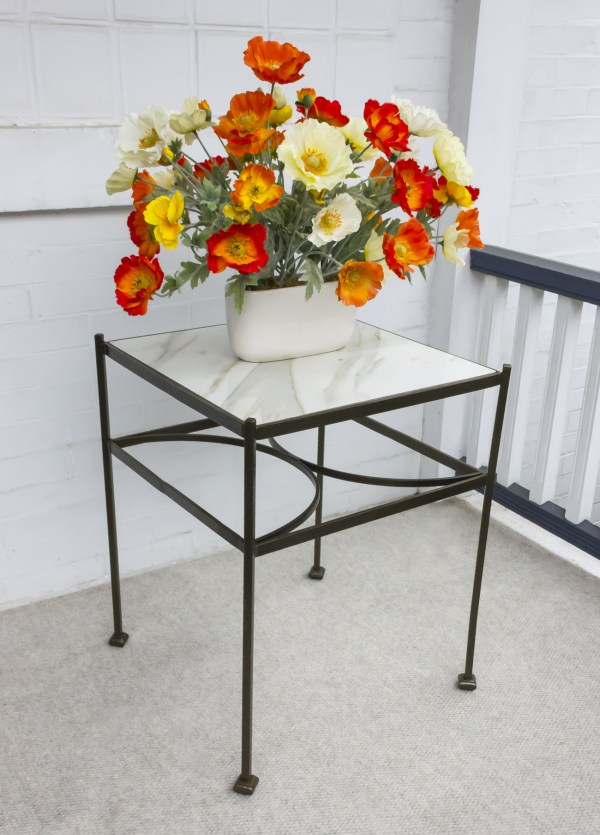 low square table