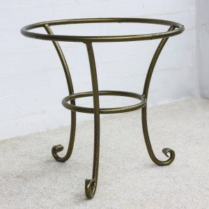 low iron plant basket stand