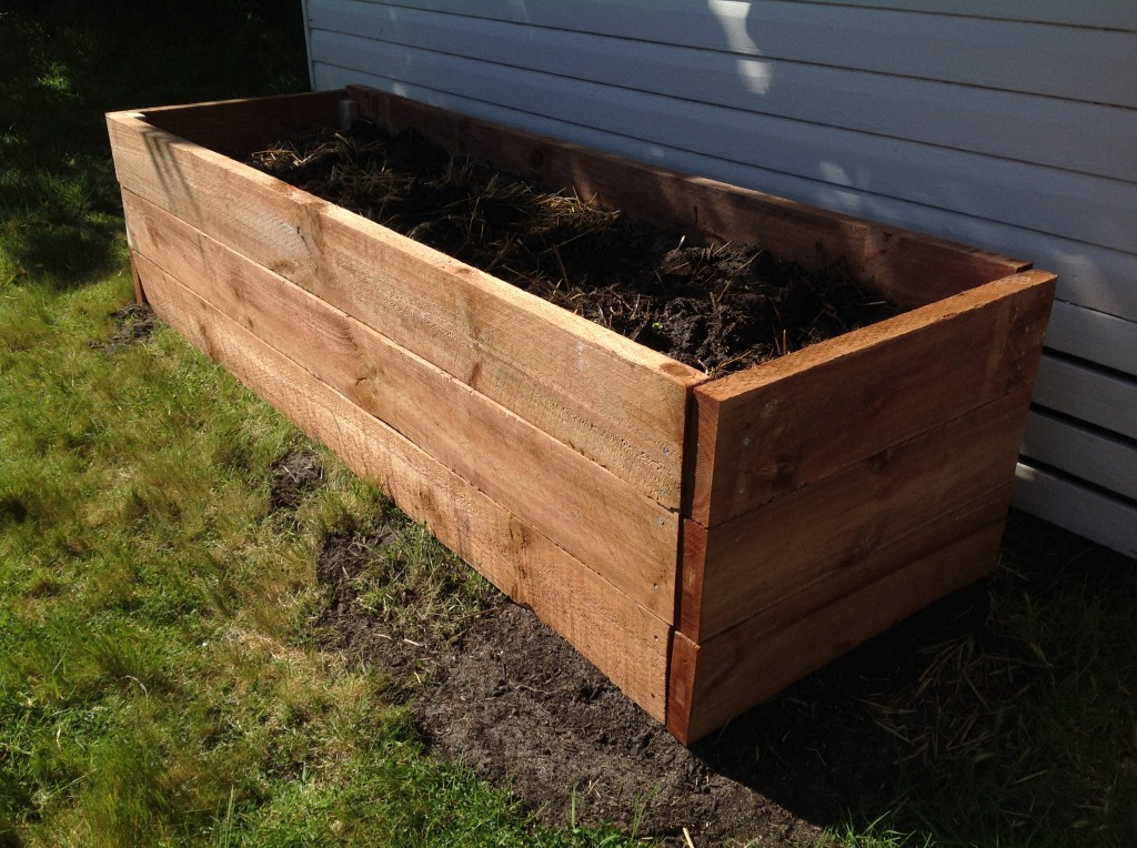 High Raised Garden Beds