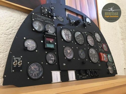 Completed Instrument Panel