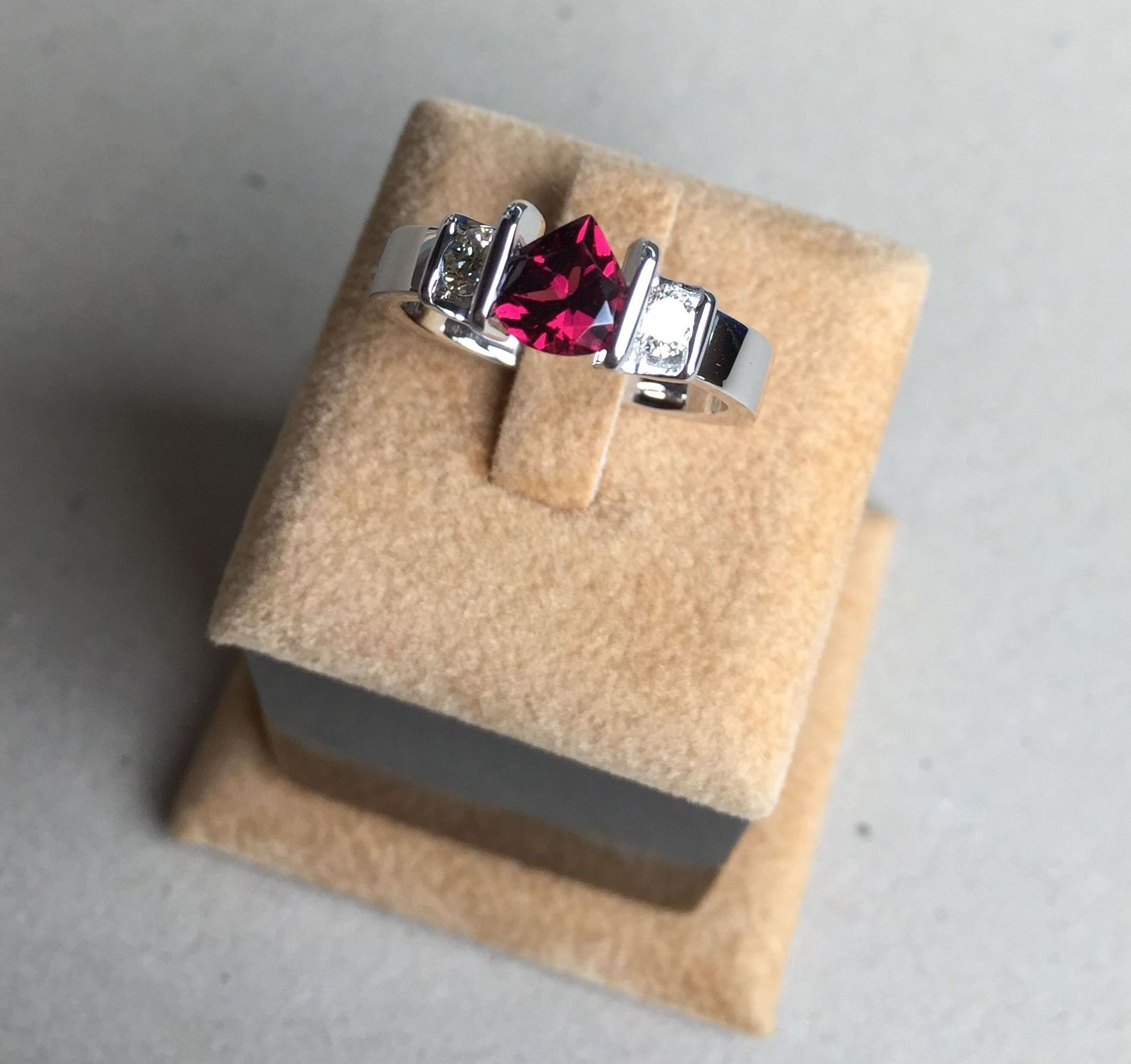 garnet engagement rings